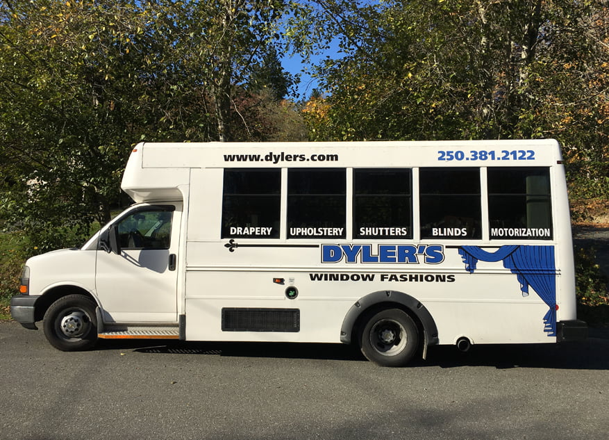 Blinds and Window Coverings | Dyler's Window Fashion Mobile Showroom